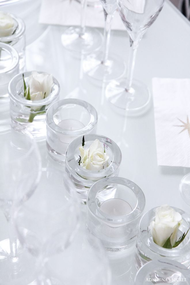 Beautiful decorations with Iittala's Kivi tealights
