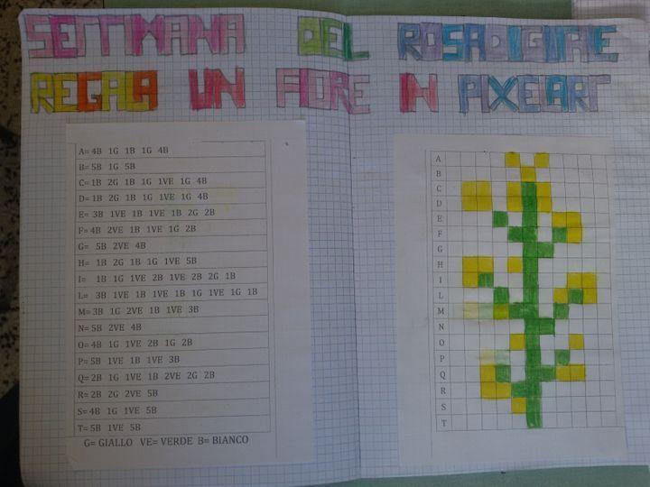 Regala Un Fiore In Pixel Art