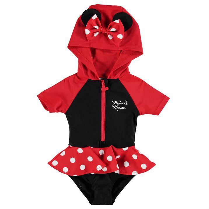Disney Minnie Mouse Baby UV Swim Suit