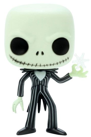 Nightmare Before Christmas POP! Vinyl Figur Snowflake Jack Skellington 10 cm