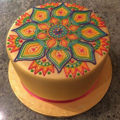 Richard Burr - Mandala cake