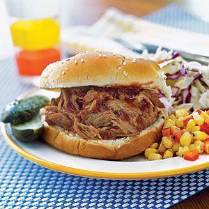 Slow-Cooker Pulled PorkCrockpot Meals, Pulled Pork Recipe, Crock Pots, Slowcooker Pulled, Food, Slow Cooking Pulled, Easy Slow Cooking, Slow Cooker, Families Dinner