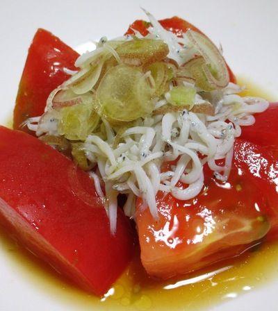 しらす干しとトマトのサラダ<みょうがの風味もプラス> by syu♪さん ...