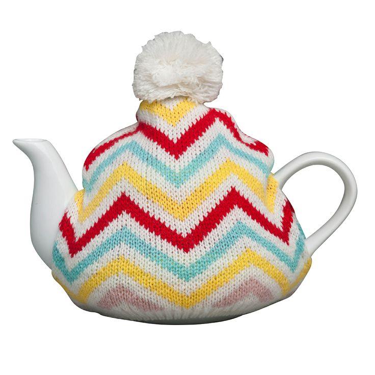 Teapot & Cosy Zig Zag by Robert Gordon New Year Savings on THEHOME.COM.AU
