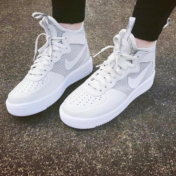Nike Air Force 1 Ultraforce Mid Sneakers   Sneakers, Sporty shoes ...