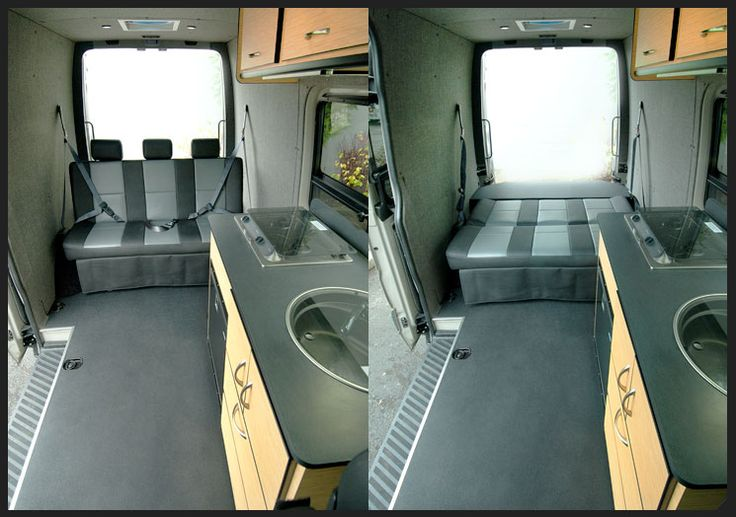 Maybe A Kids Back Seat Can Turn Into A Bed Rig Ideas Pinterest Vans Sprinter Van And Van Life