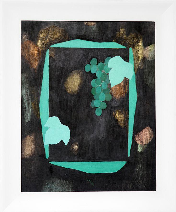 <h3 class='artwork-heading'>Untitled</h3><p class='artwork-info'>2014<br>oil and gesso on aluminium board<br>61 x 51 cm</p>