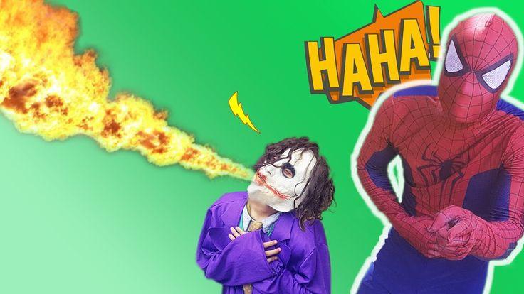 Joker transform snake Prank Frozen Elsa  Spiderman Superman harm Joker ...