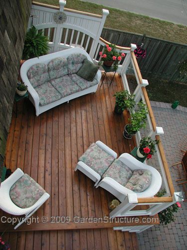 Small Deck Designs | Deck Plans Featuring Tempered Glass Rail Details And  Cool Privacy .