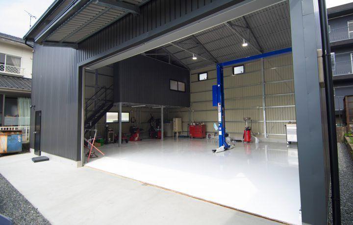 自動車整備工場 內裝 施工例 | ガレージのデザイン. 自動車整備工場. ガレージハウス