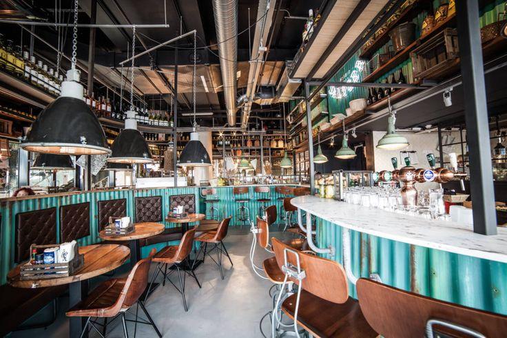 Fishbar Saltzer Amsterdam CS | Interieur Ontwerp Bar – Restaurant