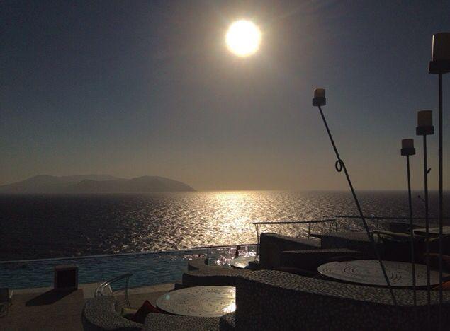 beautiful view in Pathos, Ios , Greece
