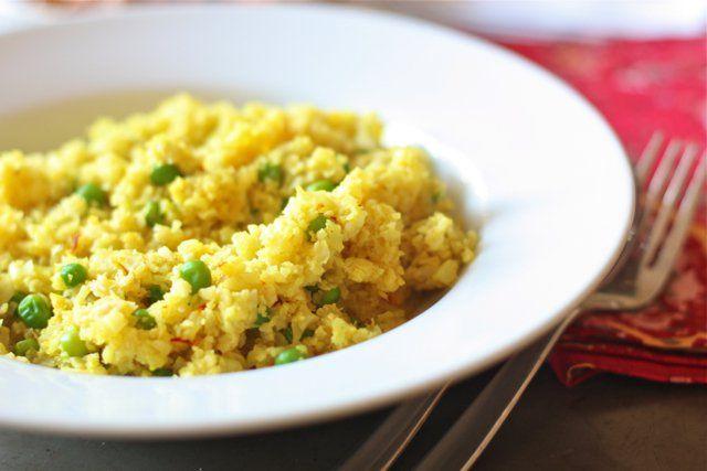 """Grain-free Saffron """"Rice"""" - Against All Grain"""