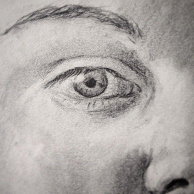 #selfportrait #study #eye #pencil #art