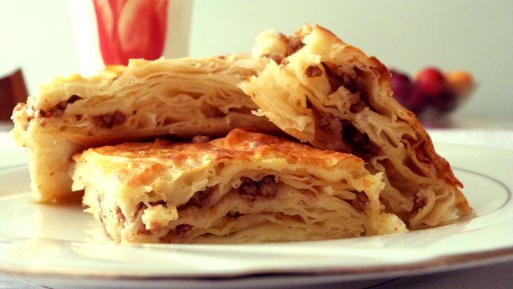 Türkisches Börek - Rezept Börek Hackfleisch