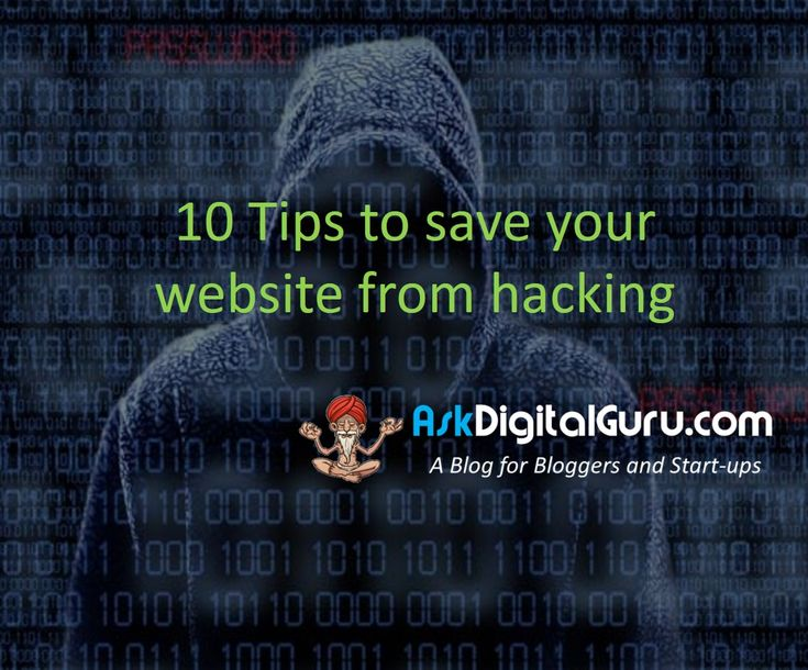 Here are the 10 tips to save your website from hacking. Quickly apply these free tips to protect your website from the bad guys.