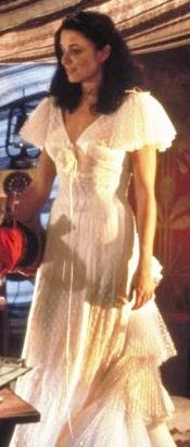 Marion Ravenwood's White Dress -- Raiders of the Lost Ark (1981)