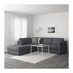 IKEA   VIMLE, Sectional, 4 Seat Corner, With Open End/Gunnared