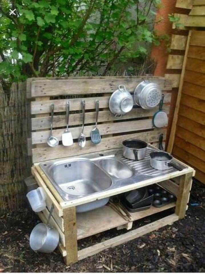 Pin By Marta Marta On Dzieci Gry Zabawy I Zabawki Beautiful Outdoor Furniture Mud Kitchen Kids Outdoor Play