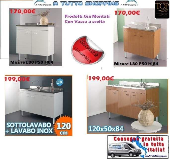 Lavello Cucina Con Mobile Usato. Finest Lavello Acciaio Inox ...
