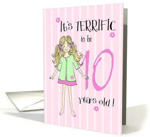 Best Girls Birthday Invitations Images On Pinterest St - Birthday invitation cards 10 years