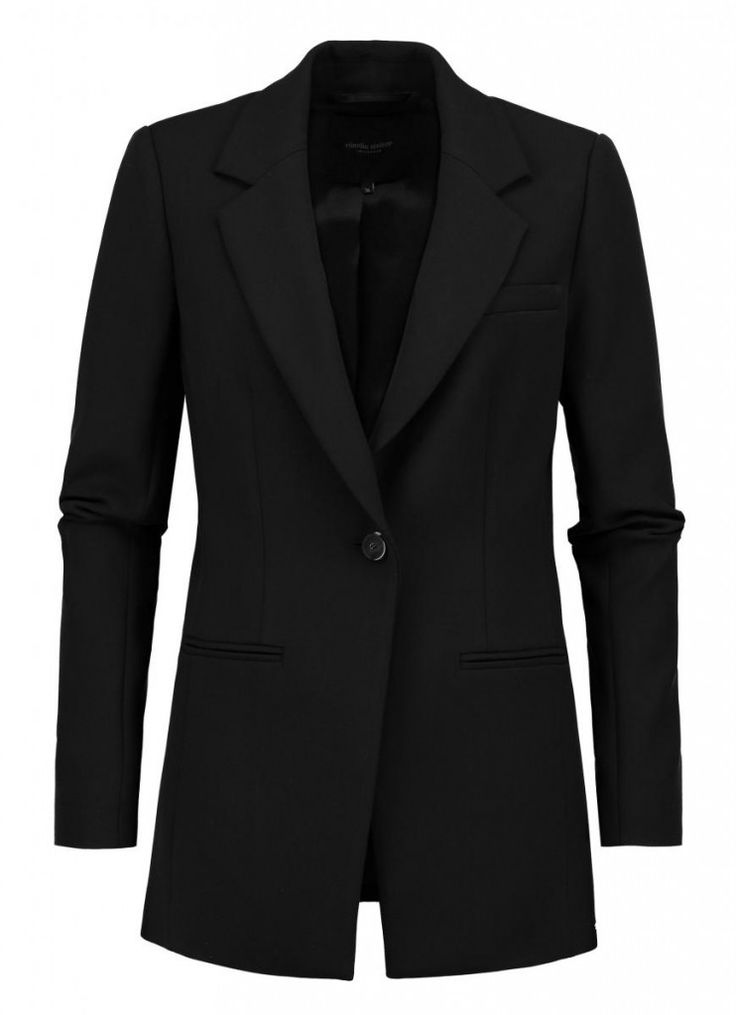 Zwarte blazer met relaxed fit | Claudia Sträter