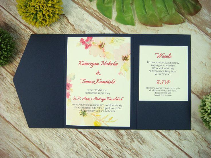 zaproszenie ślubne w folderze Gk4