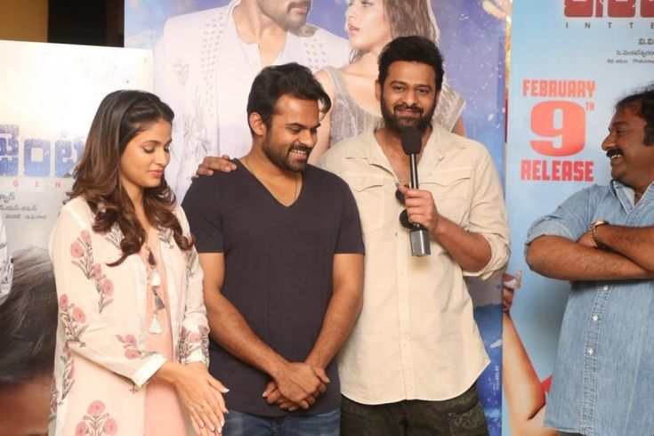 Prabhas launches first song from Sai Dharam Tej-starrer 'Intelligent'