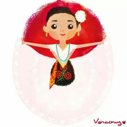 Folklor Mexicano - Veracruz ♡♡♡♡