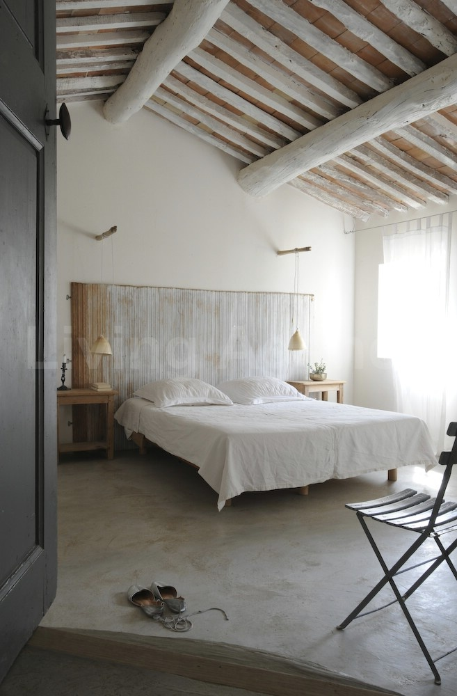 17 best ideas about curtain rod headboard on pinterest. Black Bedroom Furniture Sets. Home Design Ideas