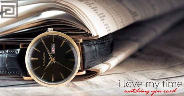 This Valentine, its all about sipping a cup of tea and watching him read the morning newspaper, afterall #ILoveMyTime #ValentinesWithDsigner #watches #designer #Fashion #accessories #men #time #wristwear