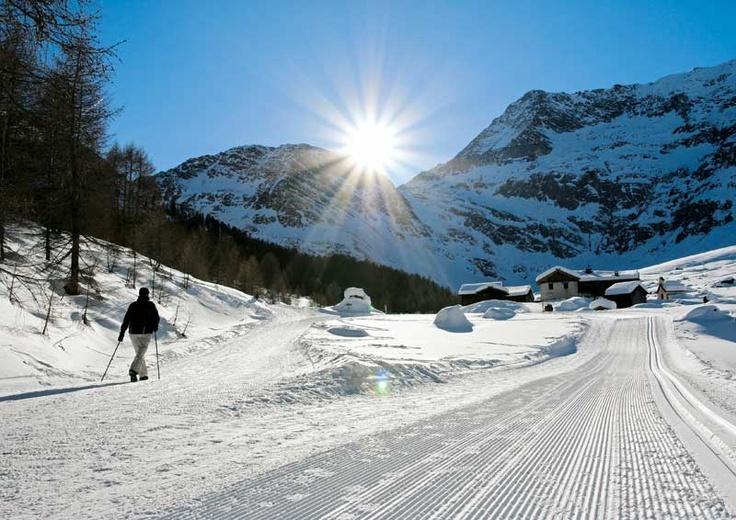 Passeggiate e sci di fondo in Val Passiria (vicino a Merano)