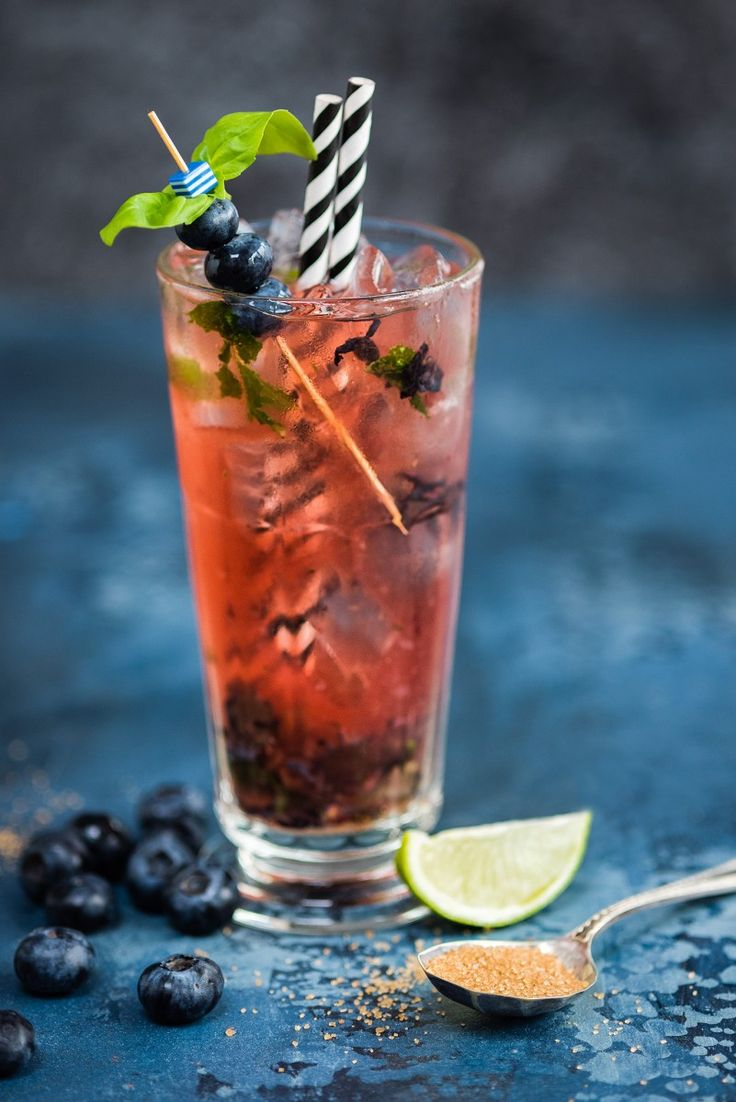 Tutorial lighting drinks and other product photography - Blueberry Basil Moscow Mule Cocktail Rick Jamesproduct Photographyfood