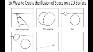 Ways to Create the Illusion of Space, via YouTube.