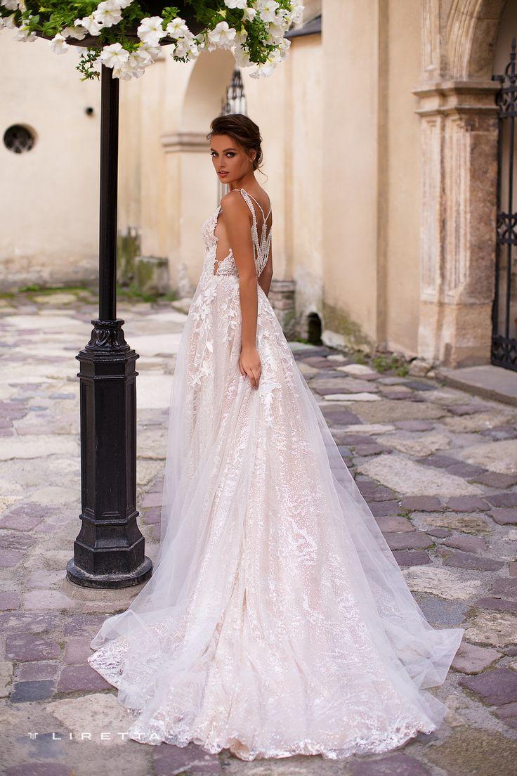 Liretta <b>Wedding Dress</b> - Liberica | Liretta Wedding <b>Blue</b> Mountain