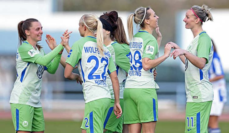 Frauen-Bundesliga: VfL Wolfsburg baut Tabellenführung mit Sieg über Sand aus: * Frauen-Bundesliga: VfL Wolfsburg baut Tabellenführung mit…