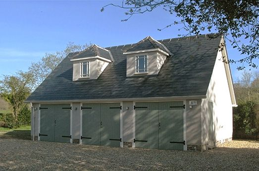 Detached Garage With Annex Before And After Magic