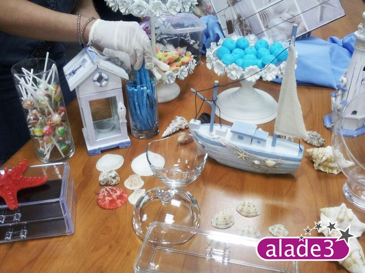 Preparando la Candy Bar.    www.alade3.es