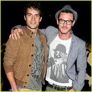 Luke Evans and Henry Cavill   http://britsunited.blogspot.com/2012/08/henry-cavill-luke-evans-jessie-j-vip.html