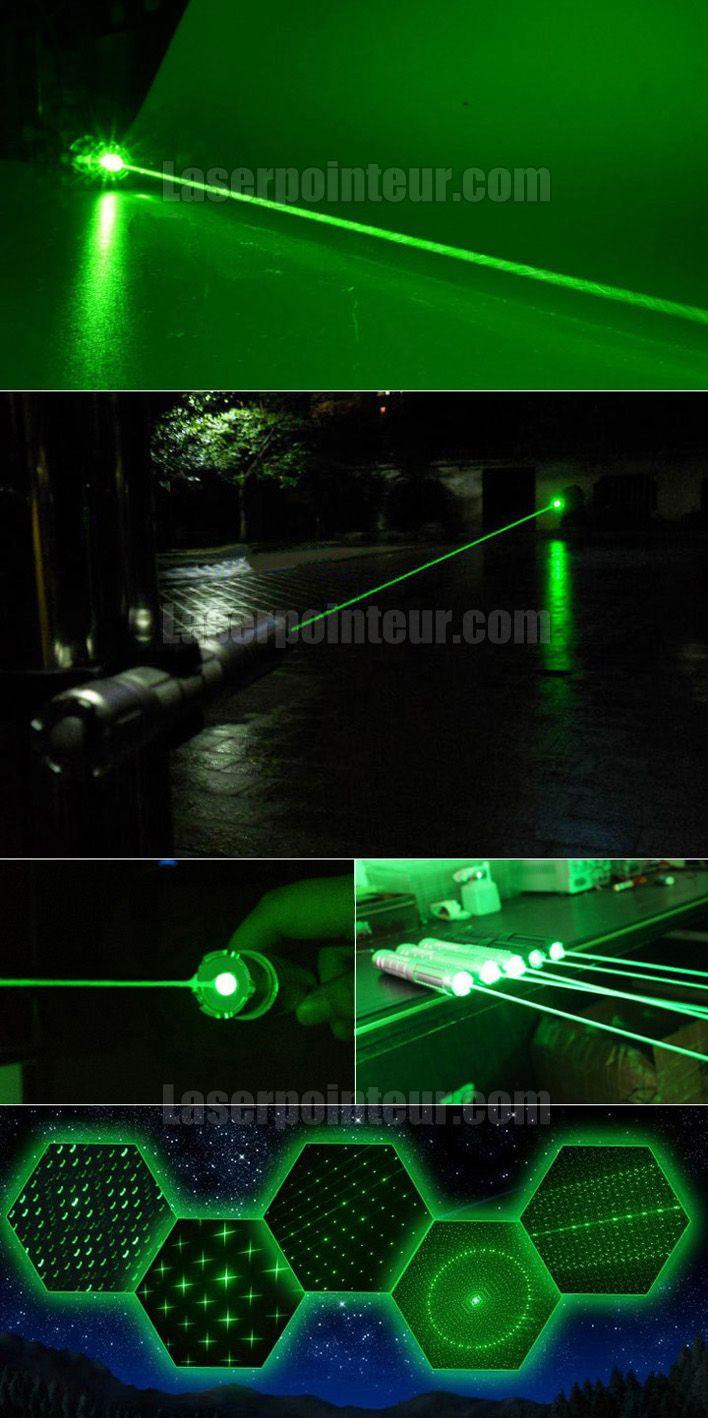 Pointeur laser vert 1000mW vraiment pas cher