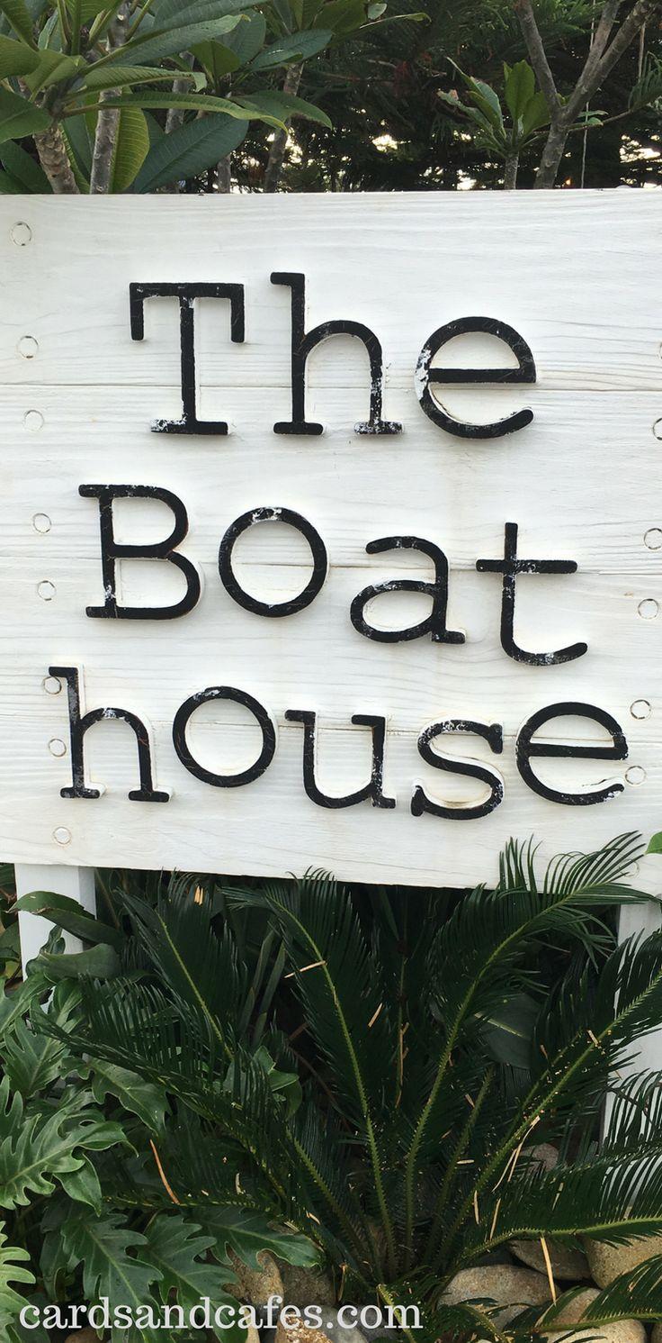 Signage of The Boast House // Sydney Palm Beach