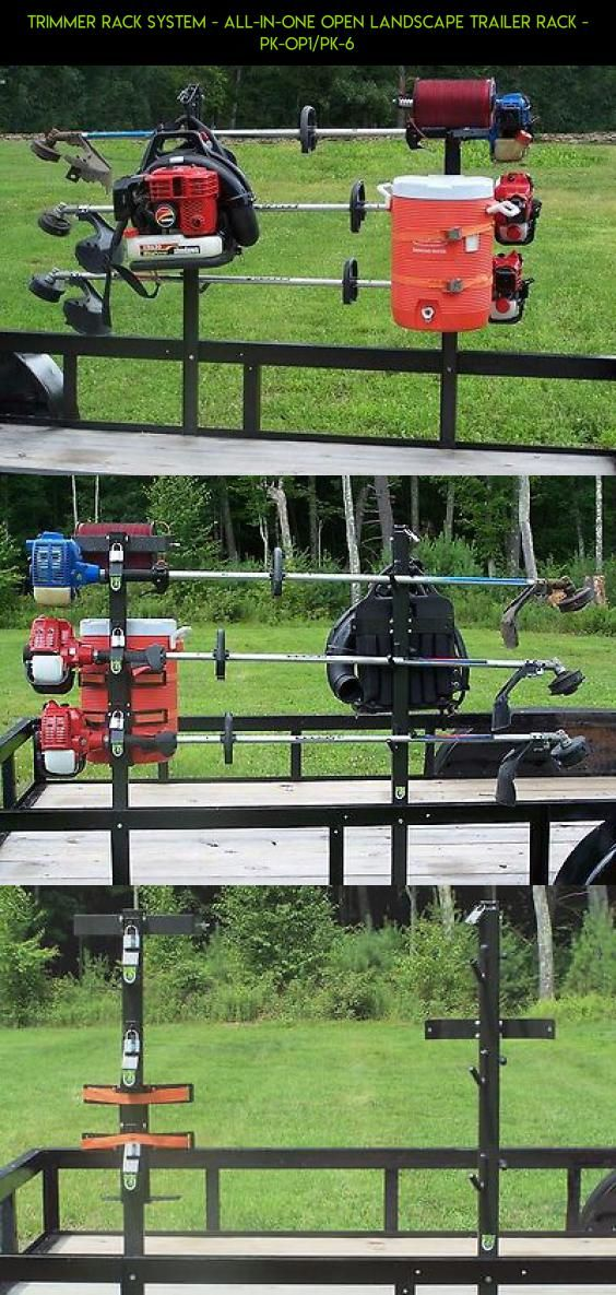 Trimmer Rack System - ALL-IN-ONE OPEN Landscape Trailer Rack - PK-OP1/PK-6 #kit #parts #trimmers #tech #rack #racing #camera #gadgets #plans #shopping #fpv #technology #products #drone
