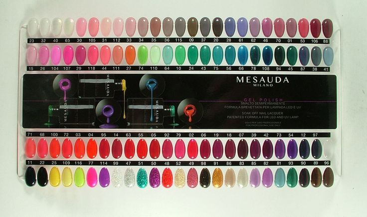 SMALTO SEMIPERMANENTE MESAUDA GEL POLISH | eBay
