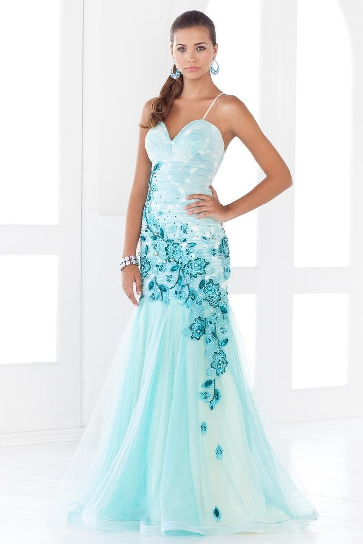 11 best Ombre Evening Gowns images on Pinterest | Party wear dresses ...