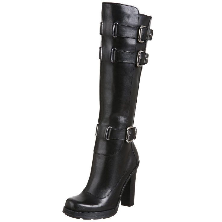 GUESS Women's Martini Buckle Tall Shaft Boot