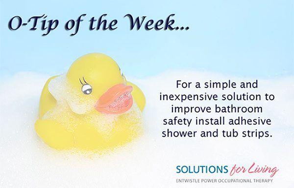 Bathroom Safety Tips