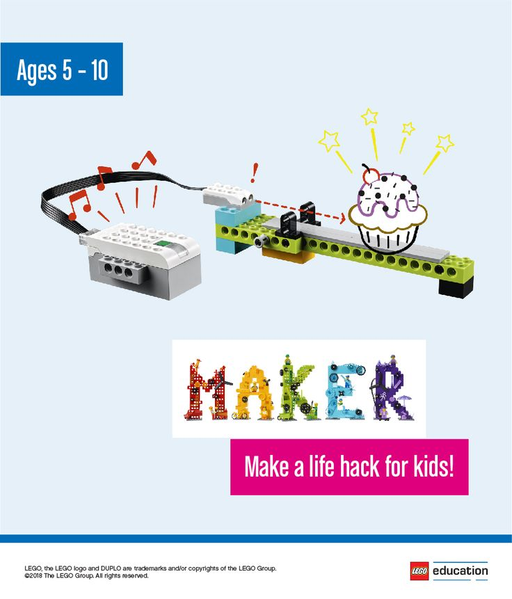 Work with students to identify challenges in their lives and then have them make a life hack that solves their problems. Have your students independently brainstorm solutions they can make tinkering with LEGO® bricks or by sketching out ideas. Then have them share their ideas within groups, working together to decide on the best idea to make. Encourage them to test and analyze their creations until they end up with a final life hack, which they can share with the other students.