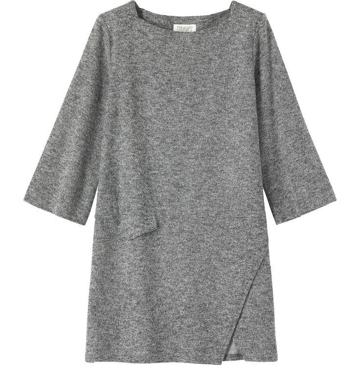 OTTOMAN JERSEY DRESS