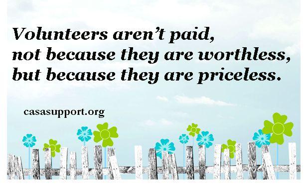 Volunteering  Vo...Volunteer Appreciation Quotes