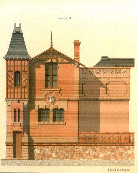 Details of Victorian Architecture. Викторианская архитектура в проектах. (Фото 2)